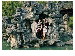 松风/服装系学生毕业设计/中国风摄影作品/国潮中国风