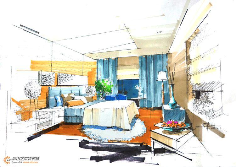 庐山室内手绘图片
