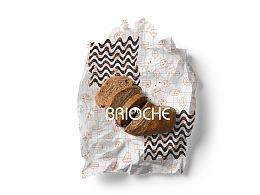 brioche法式甜品工作室 标志 包装设计