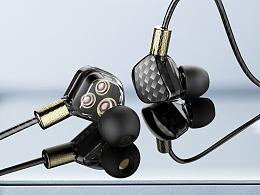 入耳式耳机详情页