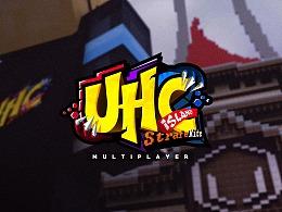 《UHC-Island》我的世界大逃杀竞技比赛宣传图排版练习