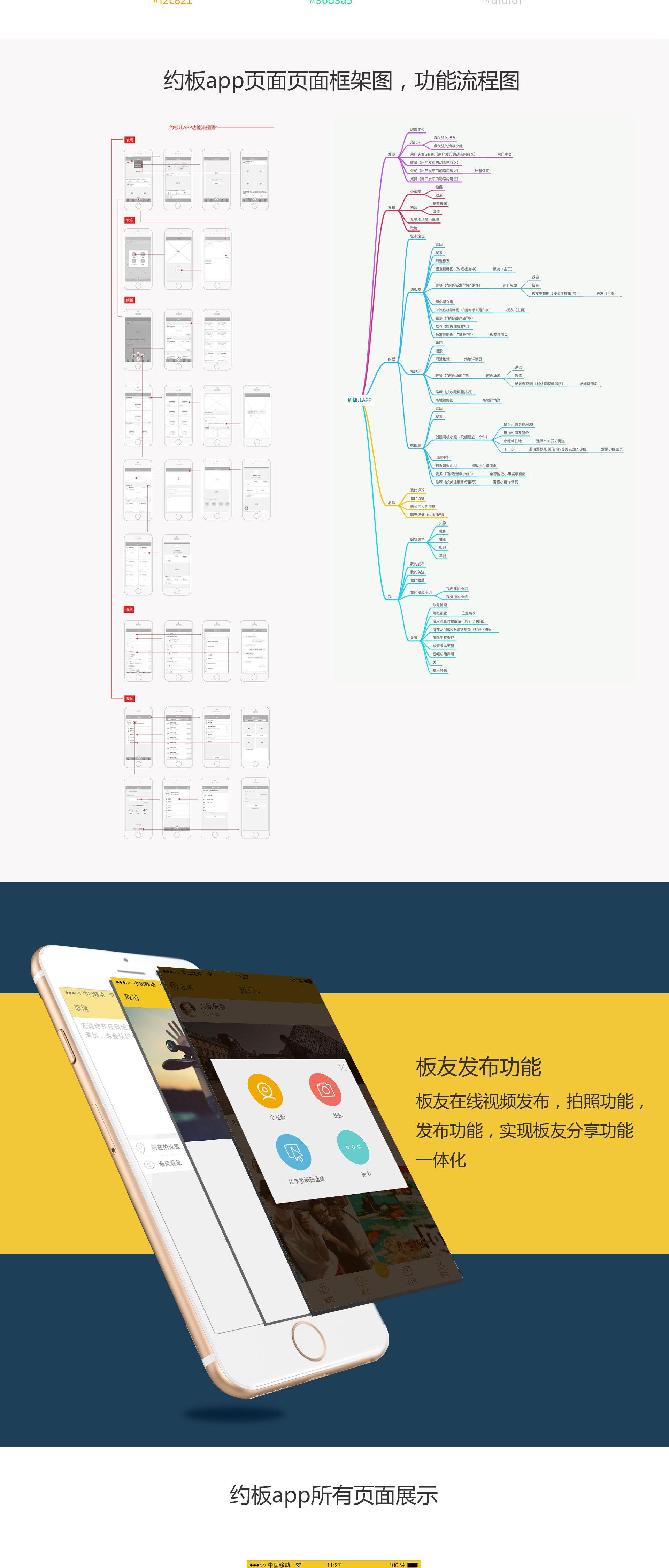 约板app 滑板app-ui-app界面-xiaonan123go - 原创