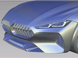 bmw-8-series-concept   Alias 建模作品