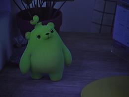【萌芽熊】台灯篇