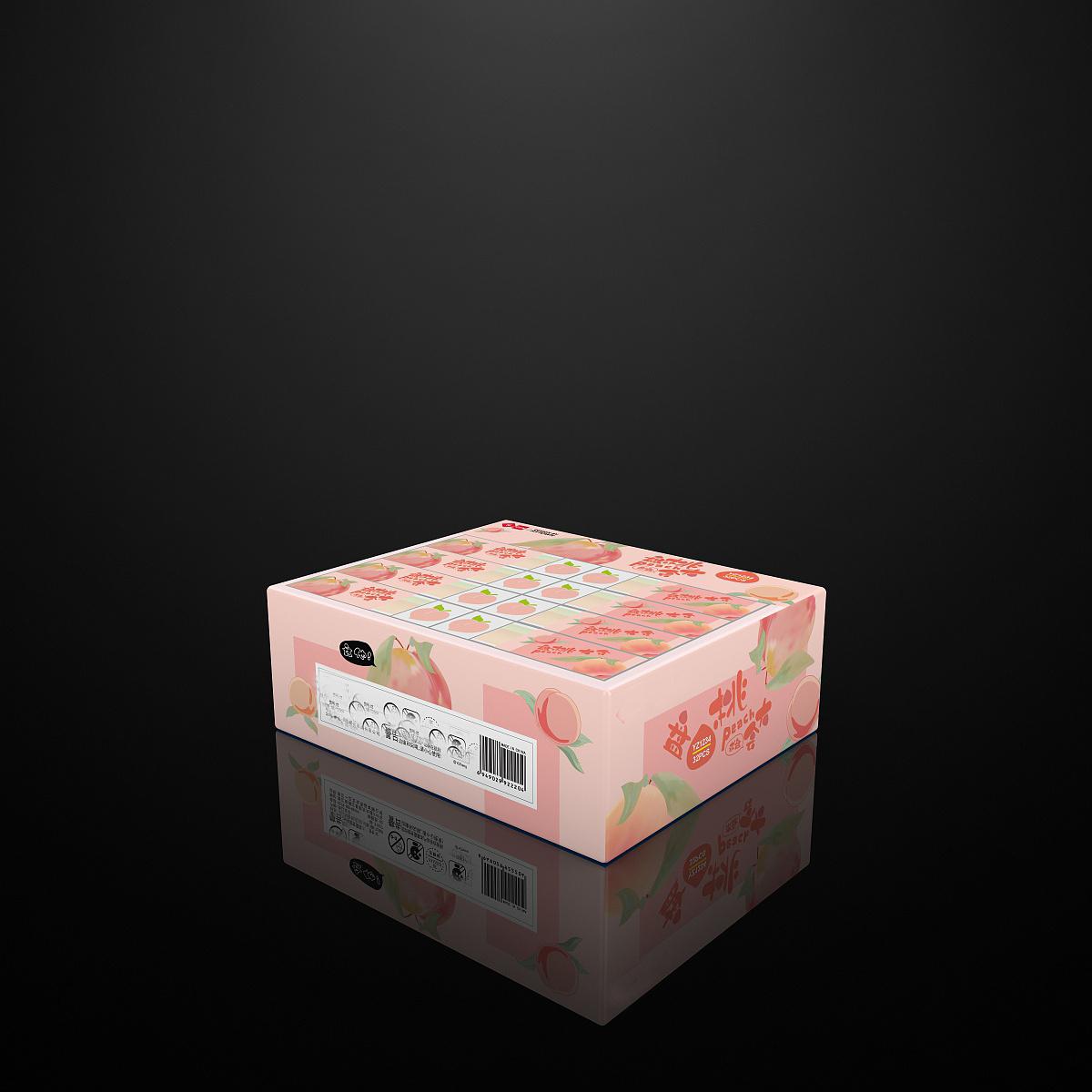 桃子素材包装设计