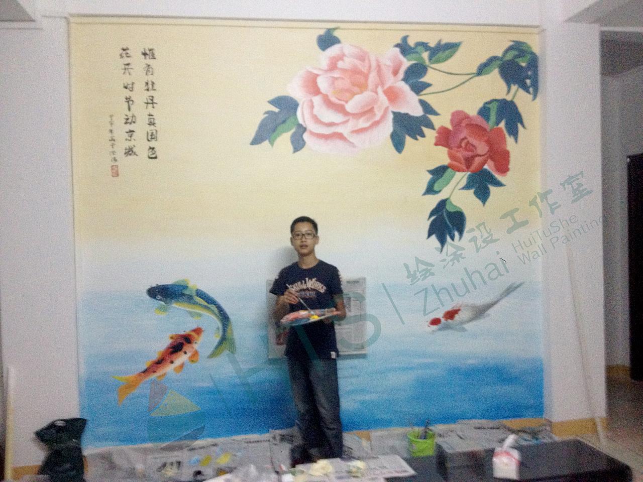 珠海 手绘墙|其他|墙绘/立体画|xsg涂鸦工作室 - 原创