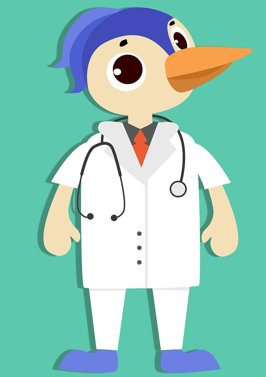 医评app吉祥物设计飞机稿|吉祥物|平面|山田野莓子
