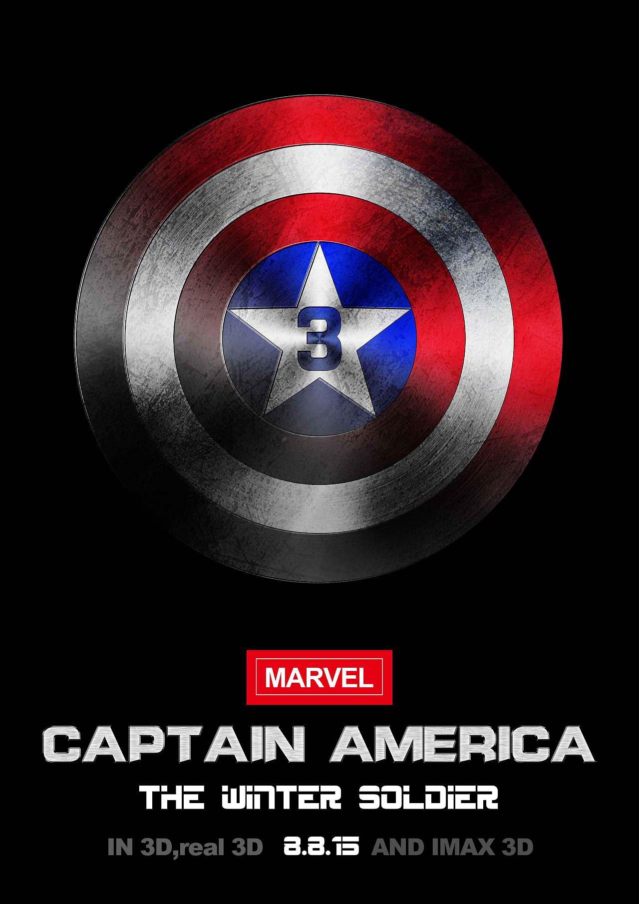美国队长3 概念海报