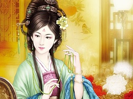 书亦飞古风插画——旧时王榭堂前燕