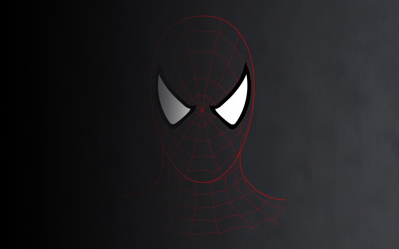 数据风蜘蛛侠钢铁侠壁纸图片