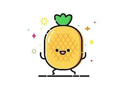 【MBE风格插画】夏日水果趴