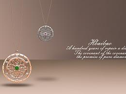 珠宝设计——温柔小清新
