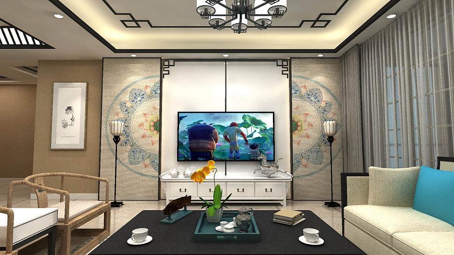 新中式设计|室内设计|空间|escapetomato - 原创设计