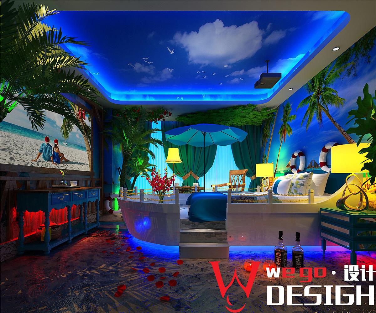 河北主题酒店设计酒店-河北影咖案例主题设计设计师像思考那样图片