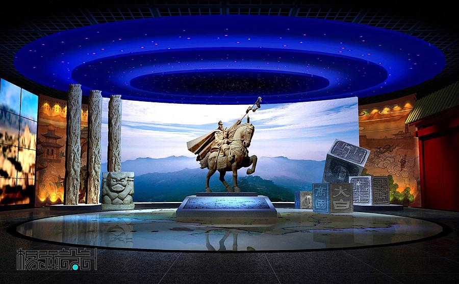 历史文化展览馆空间设计图片