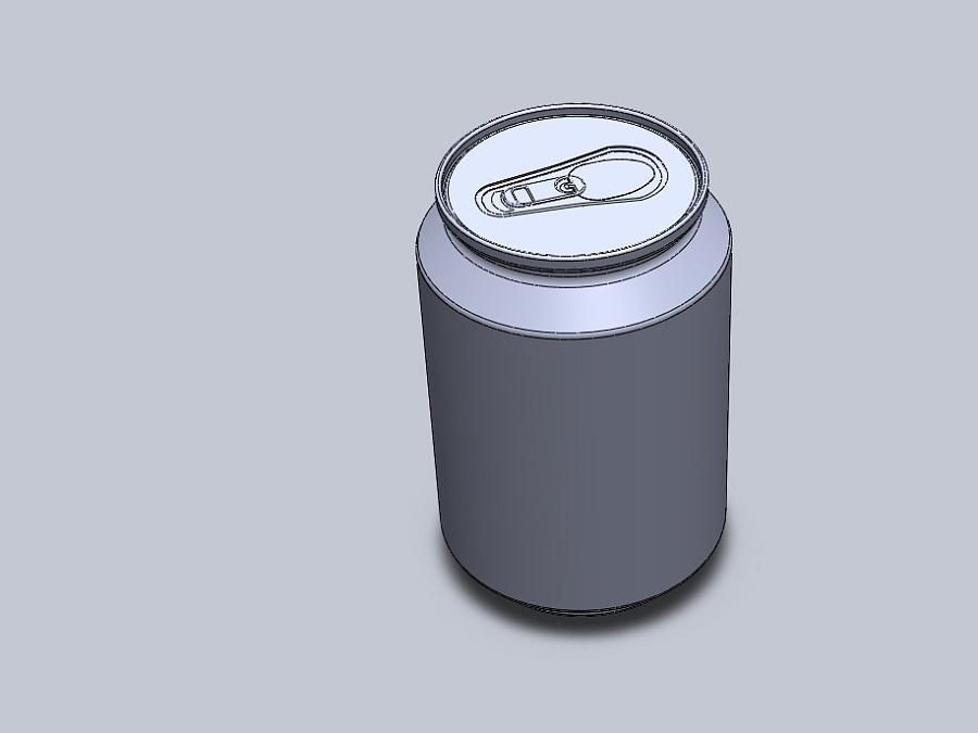 可乐瓶子产品设计图