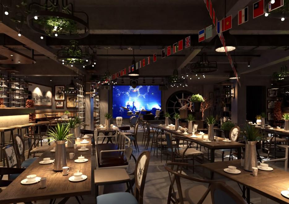 《丽江米氏音乐红酒餐厅装修设计》丽江餐厅设计 丽江餐厅设计装修图片