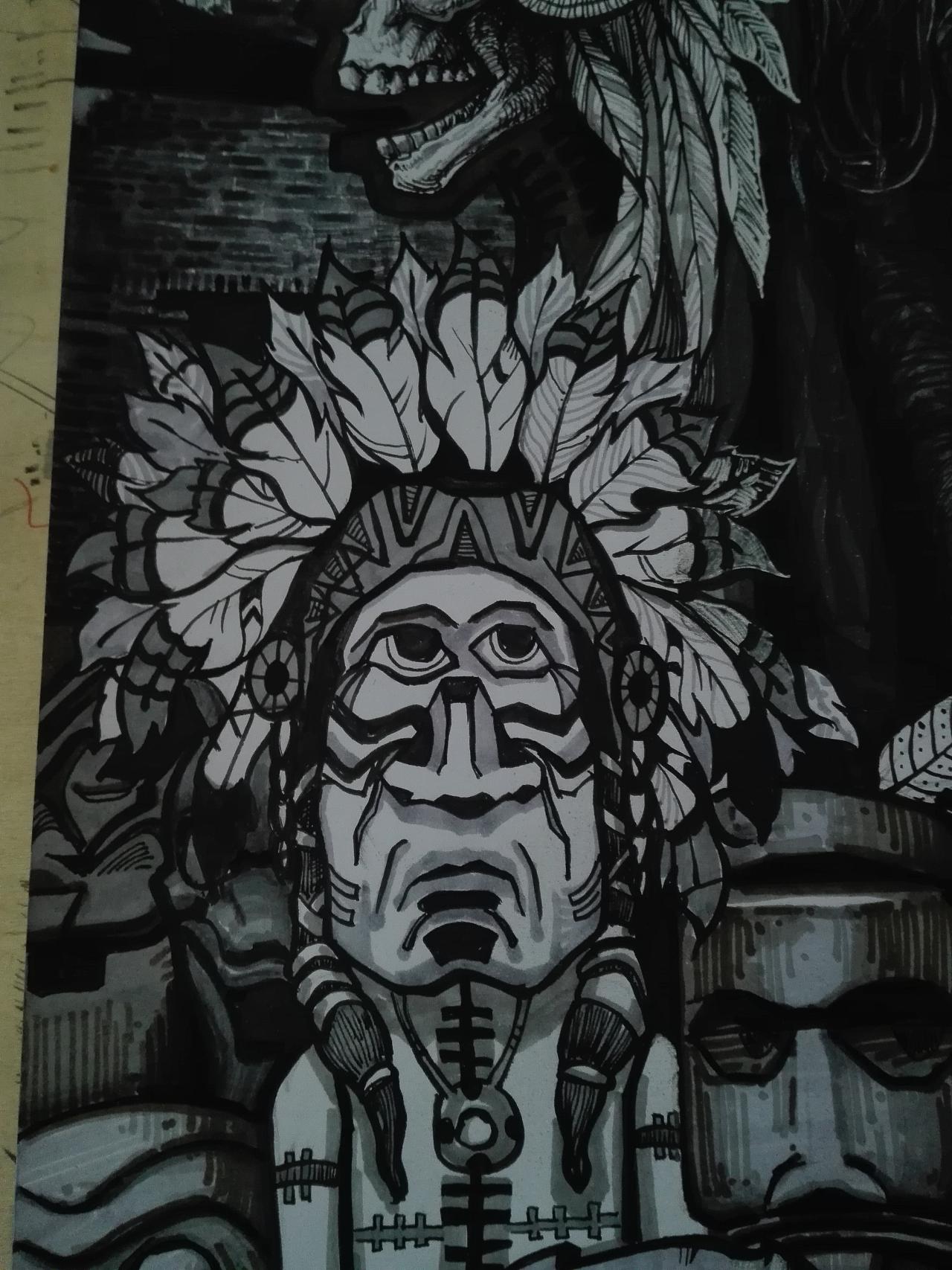 马克笔手绘