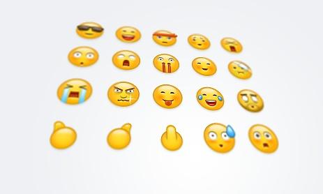自家用emoji表情图片