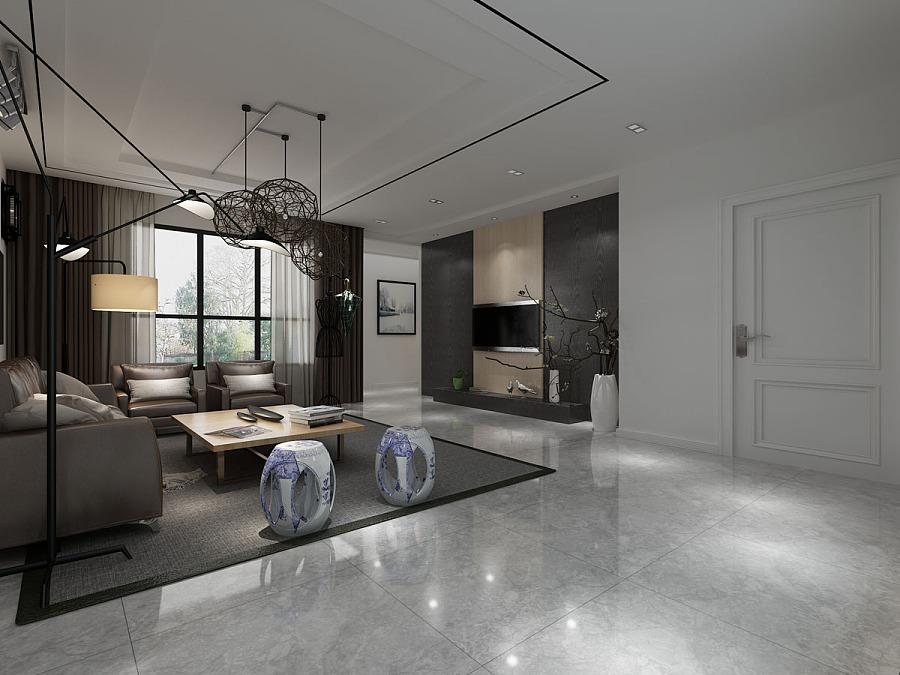 家居格调-中式古韵撞上现代工业风|室内设计|空
