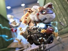 肥鼠侠 - 守护城市流浪动物的超级英雄