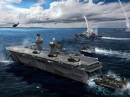 未来两栖攻击舰概念