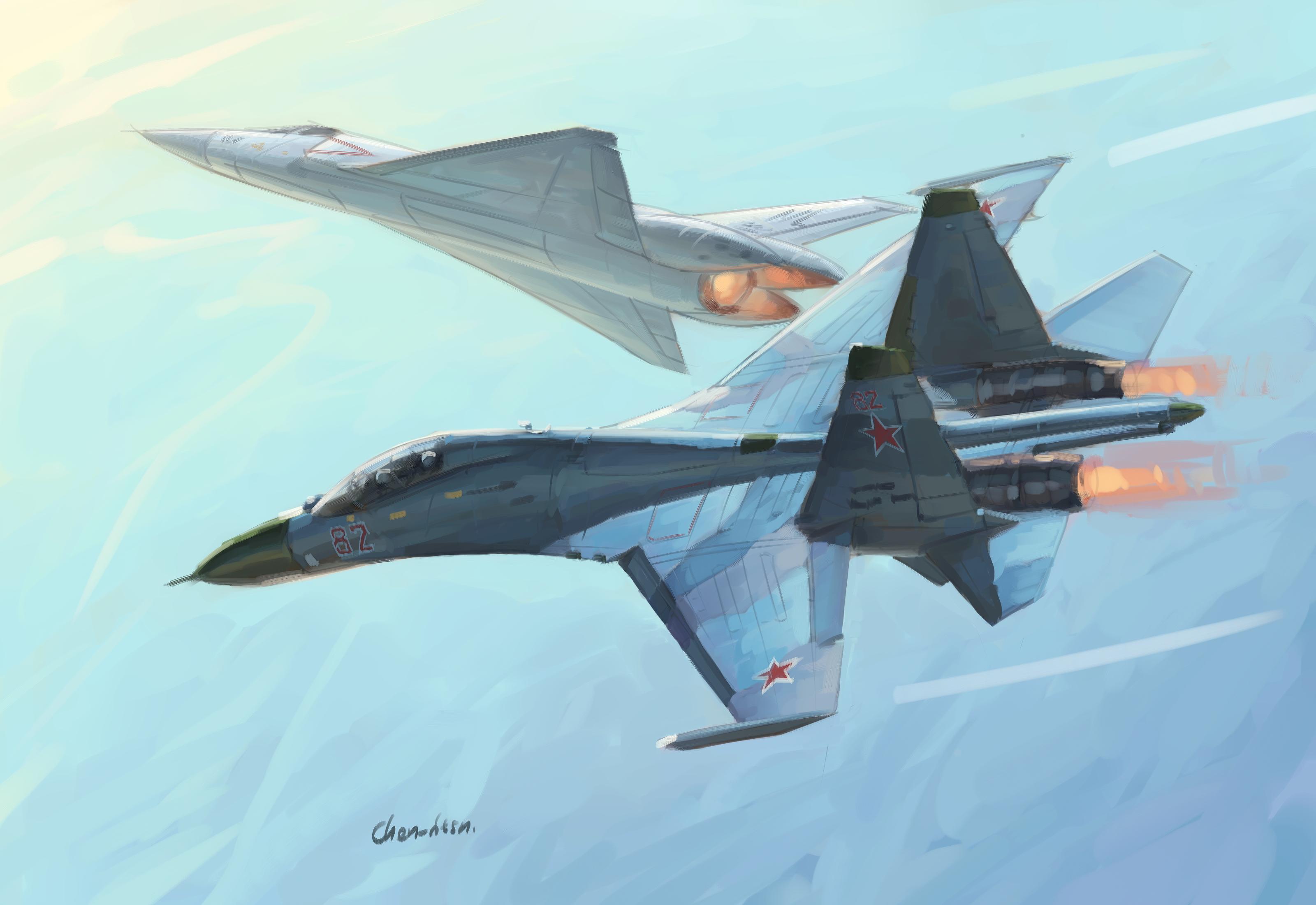 涂鸦找笔画飞机