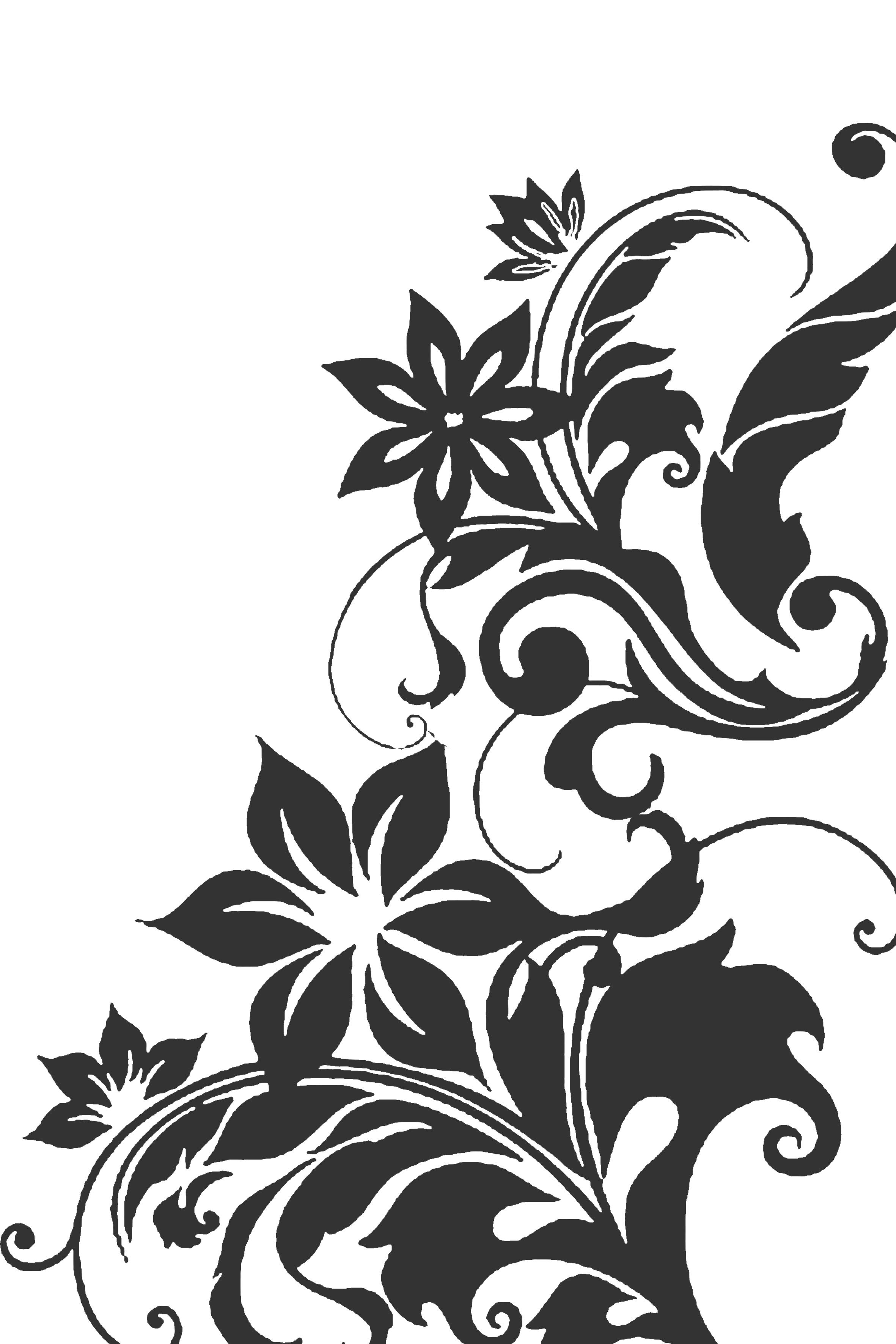 古典结合的时尚花纹 素材