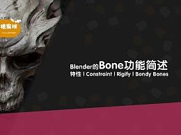 Blender初级向介绍教程 糖果班_第六集 Blender的骨骼与Rig特点