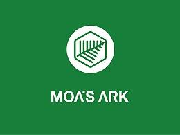 摩亞方舟標志設計 | MOA'S ARK LOGO