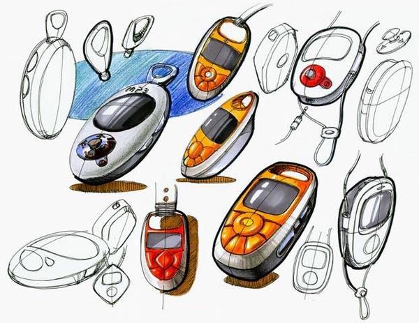 手绘练习|工业/产品|生活用品|一叶一木 - 原创作品
