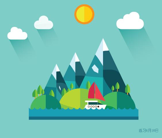 ai练习2|图标|ui|木头人的田野
