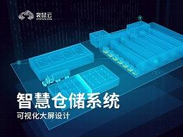 数据可视化大屏-智慧仓储系统