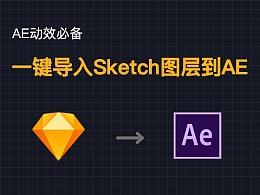 AE动效必备:一键将Sketch文件图层导入到AE——AEUX