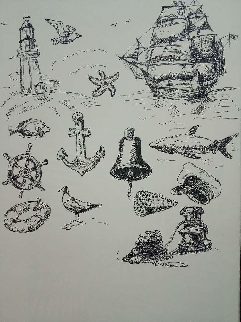 一些垃圾手绘