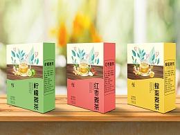 系列姜茶包装