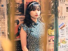 深圳约拍 | 港风餐厅里的旗袍少女