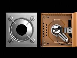 产品渲染|卡式炉