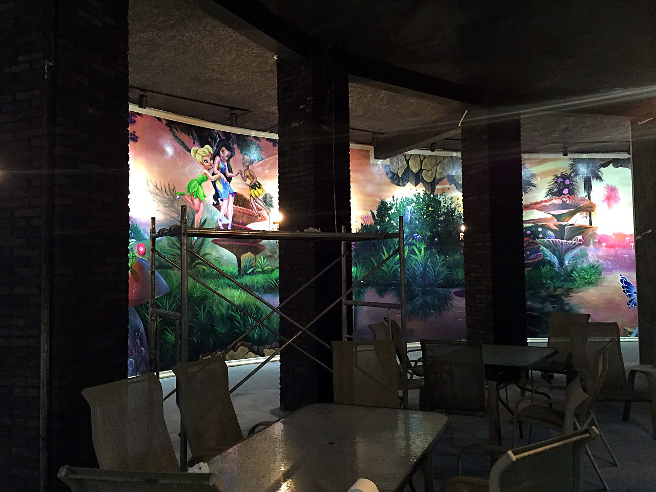 温莎泉州城堡香草福建攻略大型壁画,3d世界出炉啦!Ps超级机器人壁画完美大战图片