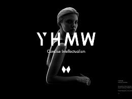 YHMW女装品牌VI形象设计