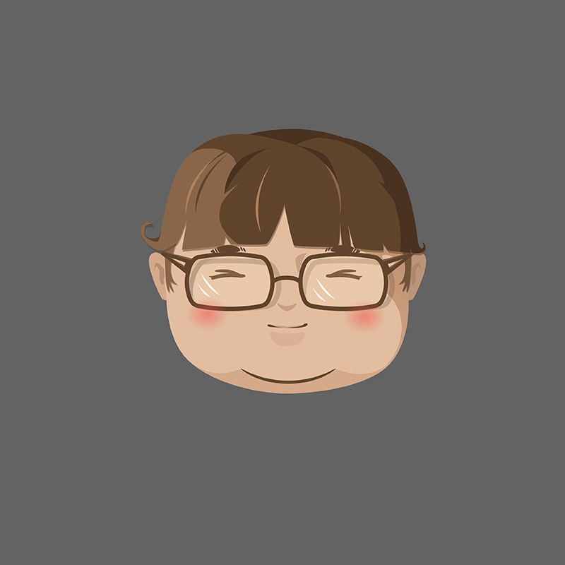 小胖子-头像绘制图片