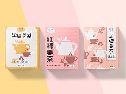 红糖姜茶包装