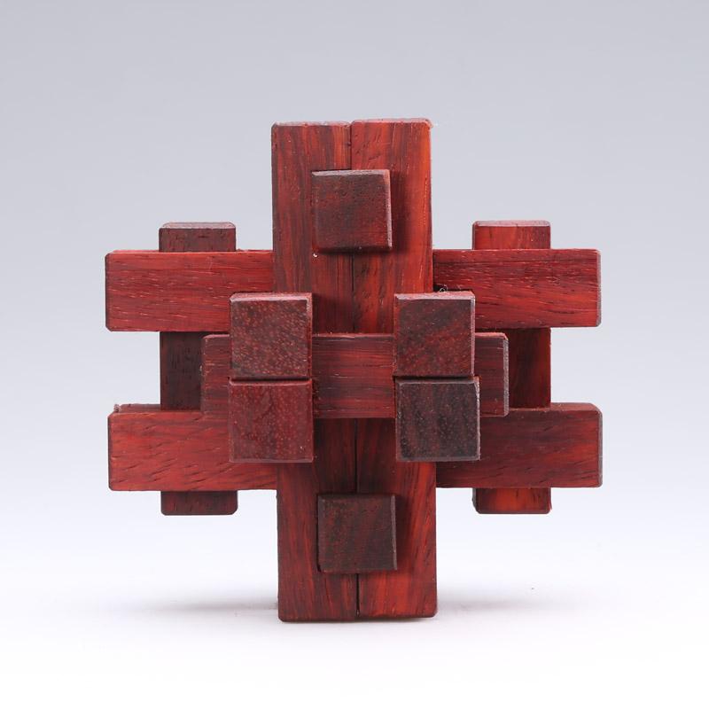 益智玩具—鲁班锁 产品 摄影 静儿521521