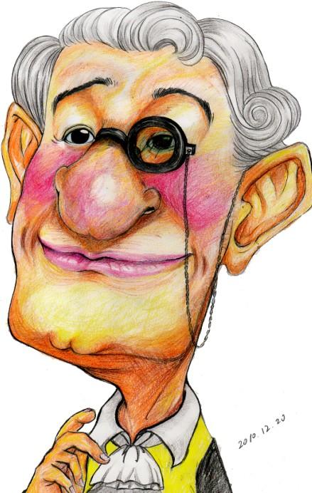 人物肖像人物漫画化