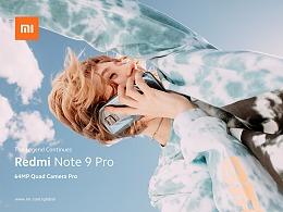 小米国际版note9系列产品平面拍摄(样张+平面广告)