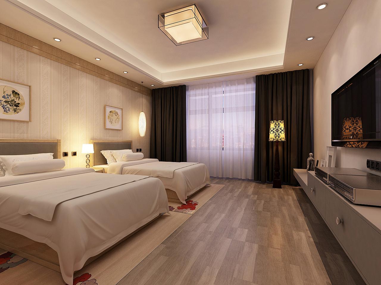尺寸墙房间家居卧室起居室设计酒店背景装修现代装修1280卧室管理系统ui设计后台图片