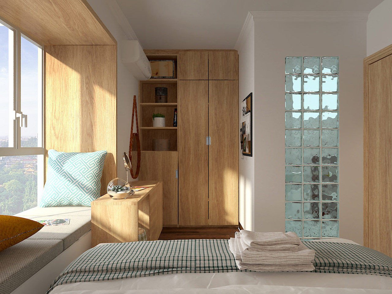 北欧意识混搭日式住宅设计|厂房|室内设计|前空间叶平重庆风格v意识装修设计图片