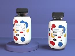 代餐奶茶包装设计