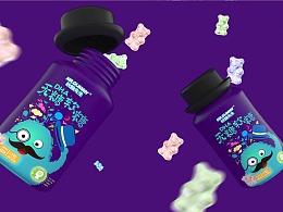 DHA软糖先生 品牌包装设计