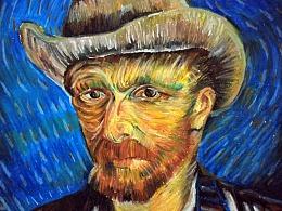 致敬梵高-油画棒作品临摹